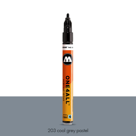 203 COOL GREY PASTEL Marker Molotow 127HS - 2mm