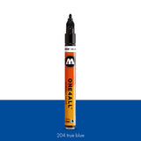 204 TRUE BLUE Marker Molotow 127HS - 2mm