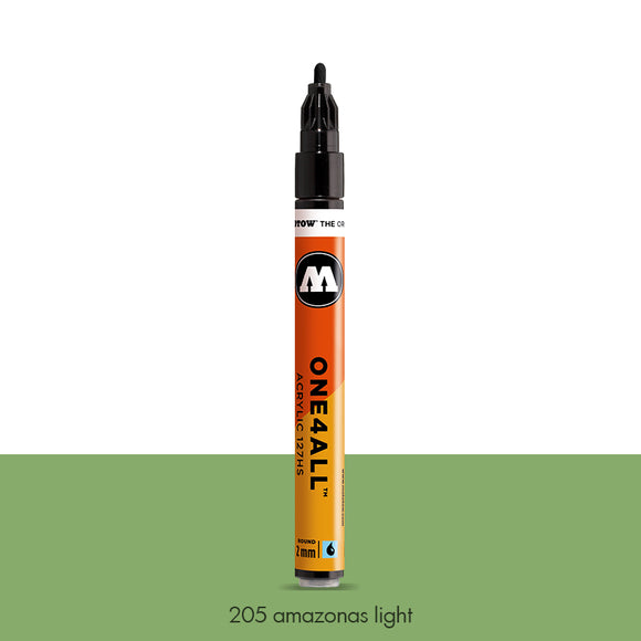 205 AMAZONAS LIGHT Marker Molotow 127HS - 2mm
