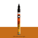 208 OCHER BROWN LIGHT Marker Molotow 127HS - 2mm