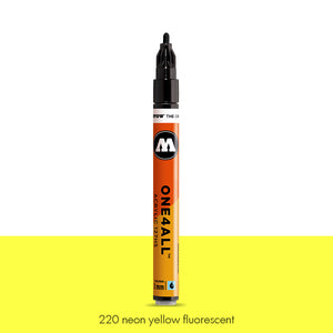 220 NEON YELLOW FLUO Marker Molotow 127HS - 2mm