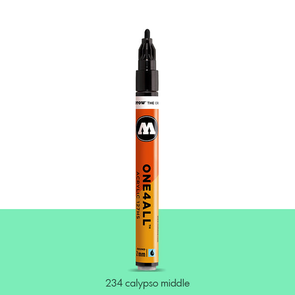 234 CALYPSO MIDDLE Marker Molotow 127HS - 2mm