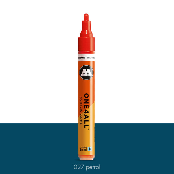 027 PETROL Marker Molotow 227HS - 4mm