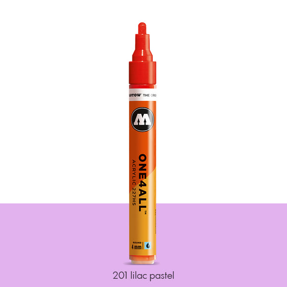 201 LILAC PASTEL Marker Molotow 227HS - 4mm