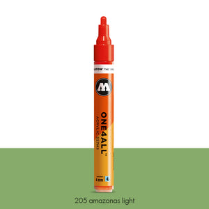 205 AMAZONAS LIGHT Marker Molotow 227HS - 4mm