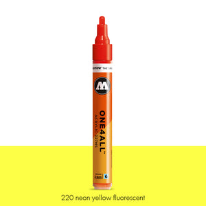 220 NEON YELLOW FLUO Marker Molotow 227HS - 4mm