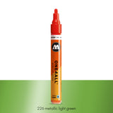 226 METALLIC LIGHT GREEN Marker Molotow 227HS - 4mm