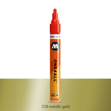 228 METALLIC GOLD Marker Molotow 227HS - 4mm