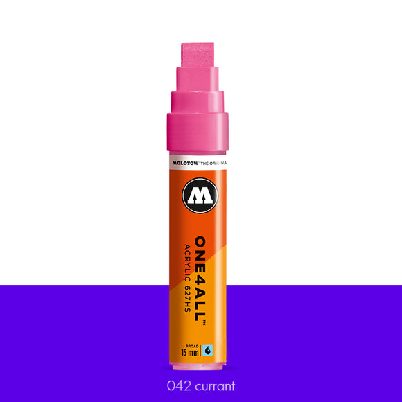 042 CURRANT Marker Molotow 627HS - 15mm