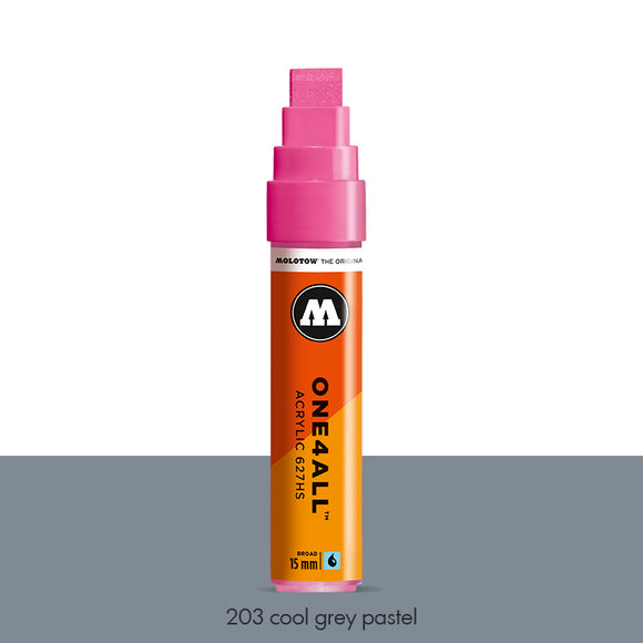 203 COOL GREY PASTEL Marker Molotow 627HS - 15mm
