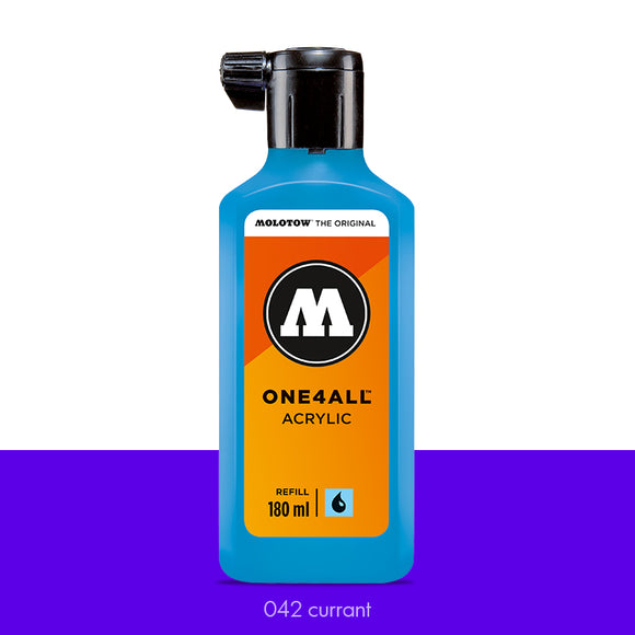 042 CURRANT Refill 180ml One4All Molotow