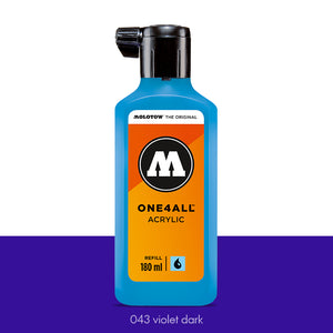 043 VIOLET DARK Refill 180ml One4All Molotow