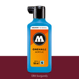 086 BURGUNDY Refill 180ml One4All Molotow