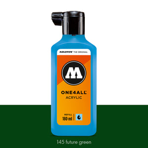 145 FUTURE GREEN Refill 180ml One4All Molotow