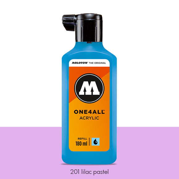 201 LILAC PASTEL Refill 180ml One4All Molotow