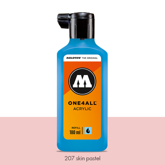 207 SKIN PASTEL Refill 180ml One4All Molotow
