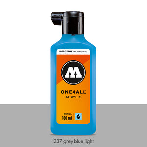 237 GREY BLUE LIGHT Refill 180ml One4All Molotow
