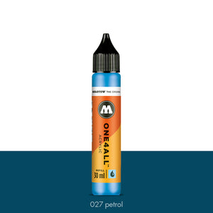 027 PETROL Refill 30ml One4All Molotow