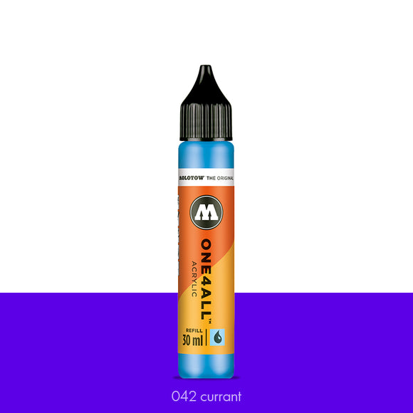 042 CURRANT Refill 30ml One4All Molotow