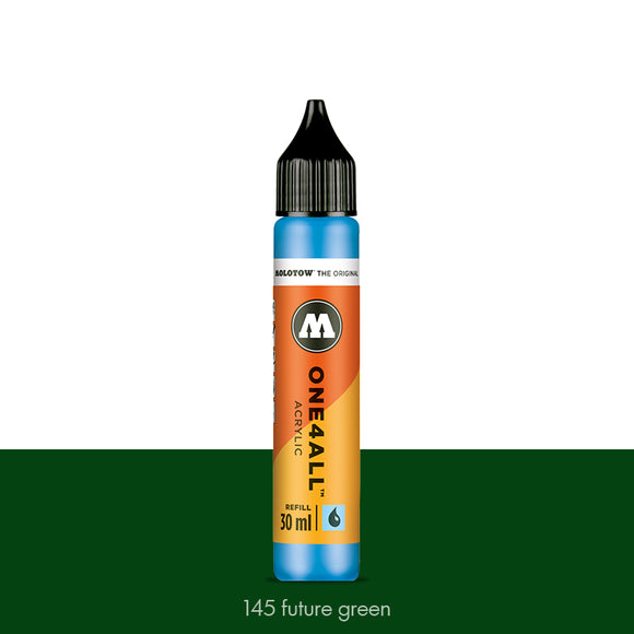 145 FUTURE GREEN Refill 30ml One4All Molotow