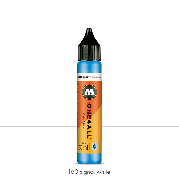 160 SIGNAL WHITE Refill 30ml One4All Molotow