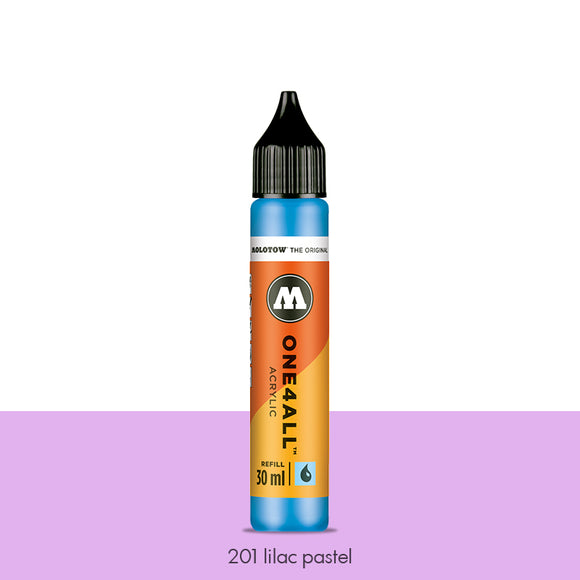 201 LILAC PASTEL Refill 30ml One4All Molotow
