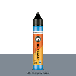 203 COOL GREY PASTEL Refill 30ml One4All Molotow
