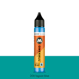 206 LAGOON BLUE Refill 30ml One4All Molotow