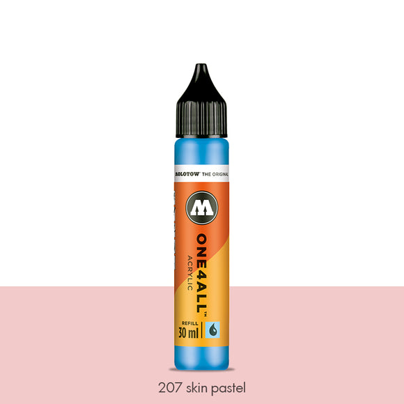 207 SKIN PASTEL Refill 30ml One4All Molotow