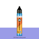 209 BLUE VIOLET PASTEL Refill 30ml One4All Molotow
