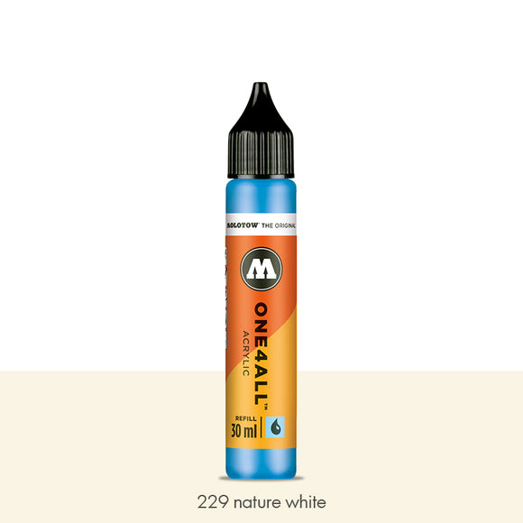 229 NATURE WHITE Refill 30ml One4All Molotow