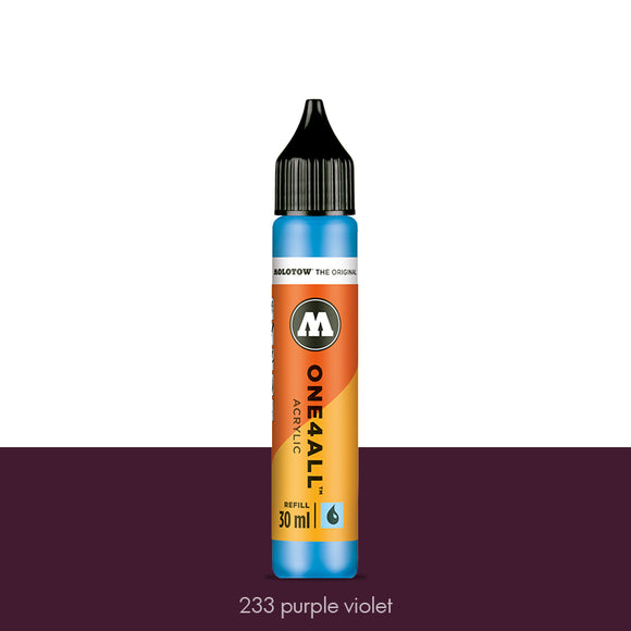 233 PURPLE VIOLET Refill 30ml One4All Molotow