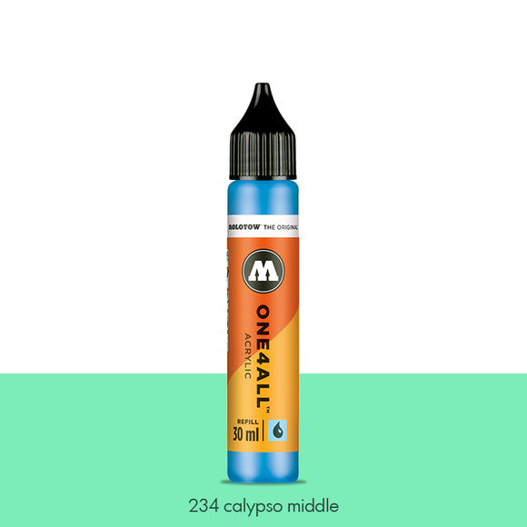 234 CALYPSO MIDDLE Refill 30ml One4All Molotow