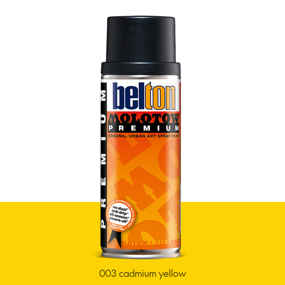 003 Cadmium Yellow - Belton Molotow Premium - 400ml