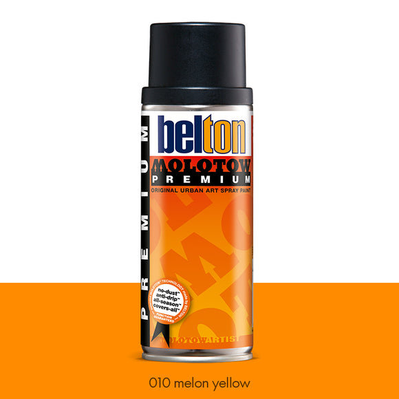010 Melon Yellow - Belton Molotow Premium - 400ml