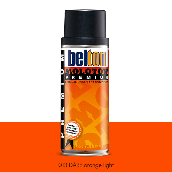 013 DARE Orange Light - Belton Molotow Premium - 400ml