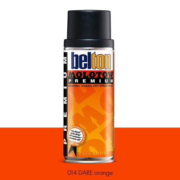 014 DARE Orange - Belton Molotow Premium - 400ml