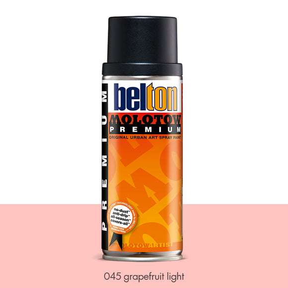 045 Grapefruit Light - Belton Molotow Premium - 400ml