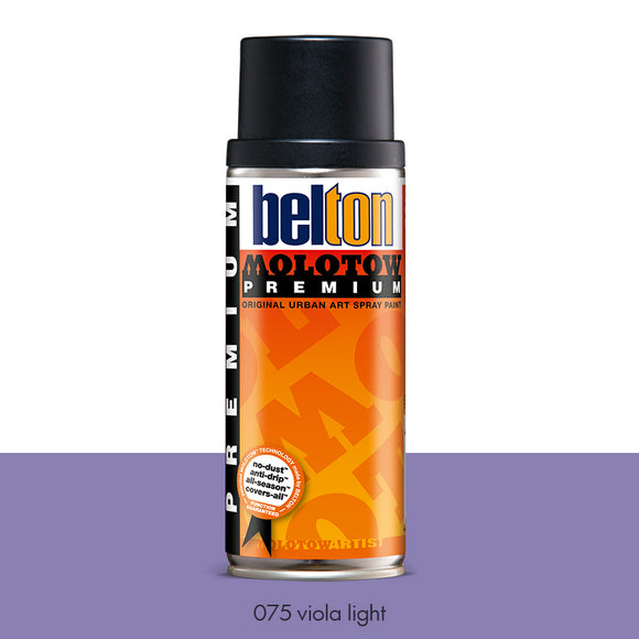 075 Viola Light - Belton Molotow Premium - 400ml