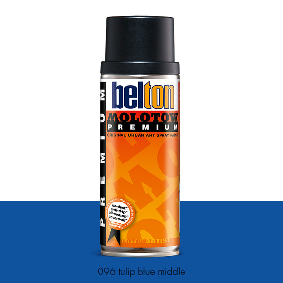 096 Tulip Blue Middle - Belton Molotow Premium - 400ml