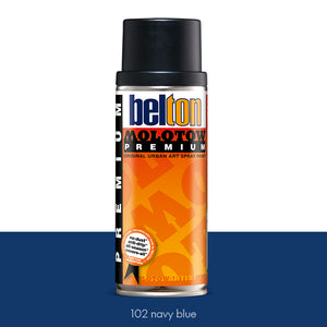 102 Navy Blue - Belton Molotow Premium - 400ml