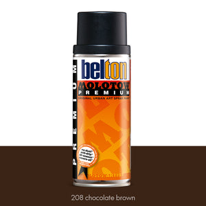 208 Chocolate Brown - Belton Molotow Premium - 400ml