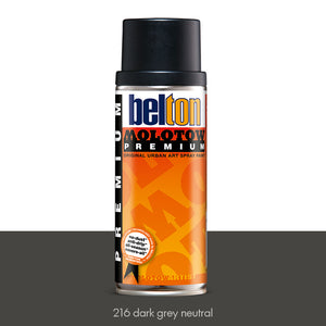 216 Dark Grey Neutral - Belton Molotow Premium - 400ml