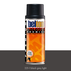 221-1 Black Grey Light - Belton Molotow Premium - 400ml
