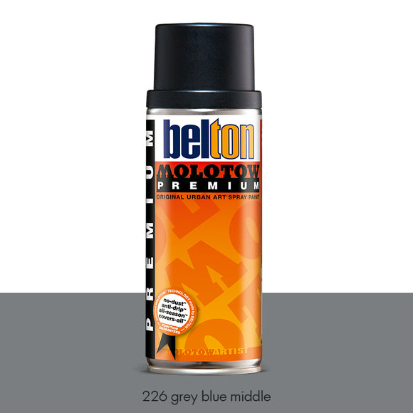 226 Grey Blue Middle - Belton Molotow Premium - 400ml