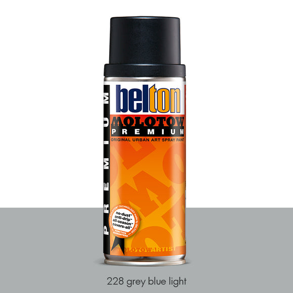 228 Grey Blue Light - Belton Molotow Premium - 400ml