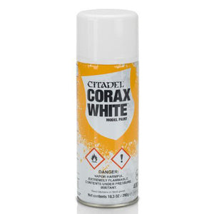 Spray Citadel Corax White - Primaire plastique
