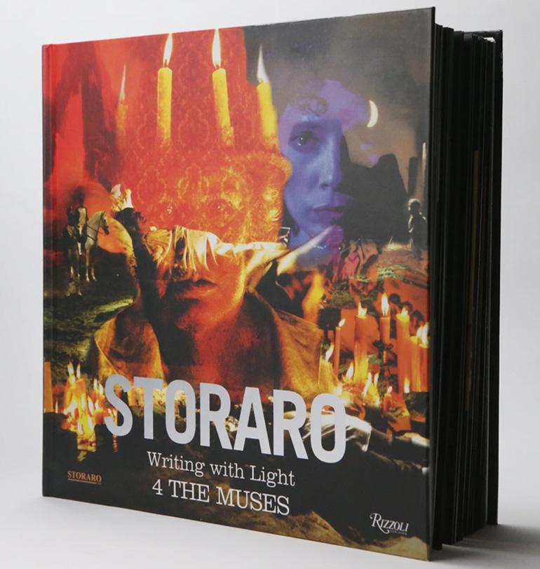 "Storaro WRITING WITH LIGHT, Vol.4, ""The MUSES"", Limited Edition Autographed Book - STUDENTFILMMAKERS.COM STORE"