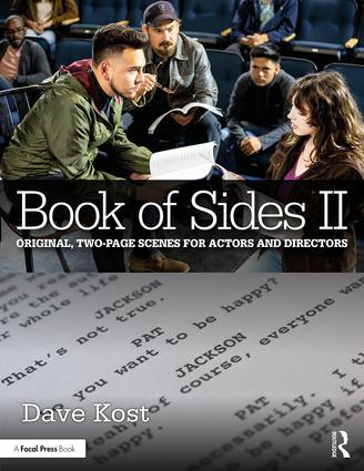 Book of Sides II: Original, Two-Page Scenes for Actors and Directors, 1st Edition - STUDENTFILMMAKERS.COM STORE