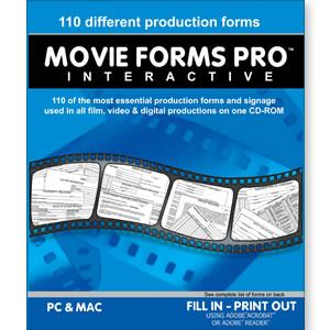 Movie Forms Pro Interactive Software (Academic)